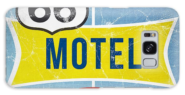 Swimming Galaxy Case - Route 66 Motel by Linda Woods