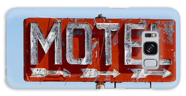 Route 66 Motel Sign Galaxy Case by Art Block Collections