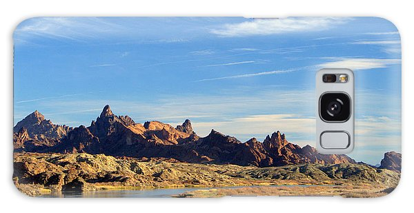 Route 66 Needles Mtn Range Two  Sold Galaxy Case by Antonia Citrino