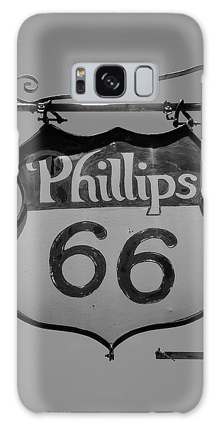 Route 66 - Phillips 66 Petroleum Galaxy Case by Frank Romeo
