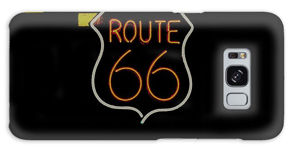Route 66 Revisited Galaxy Case by Kelly Awad