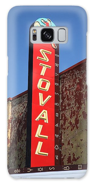 Route 66 - Stovall Theater Galaxy Case by Frank Romeo