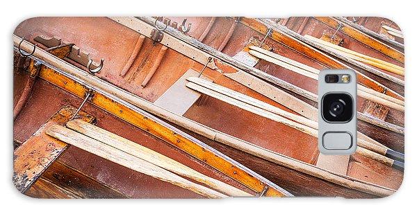 Row Boats Galaxy Case by Stefan Nielsen