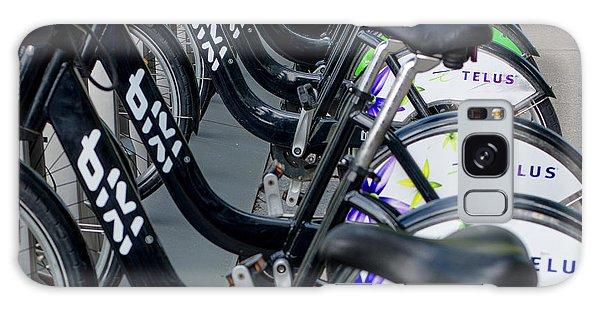 Row Of Bikes Galaxy Case