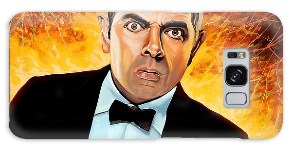 English Galaxy Case - Rowan Atkinson Alias Johnny English by Paul Meijering