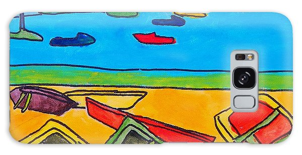 Rowboats Galaxy Case by Artists With Autism Inc