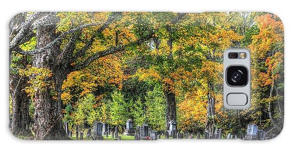 Rowell Cemetery Galaxy Case by John Nielsen