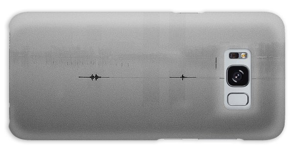 Rowers On The Lake Galaxy Case