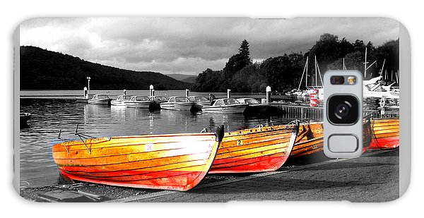 Rowing Boats Ready For Work Galaxy Case