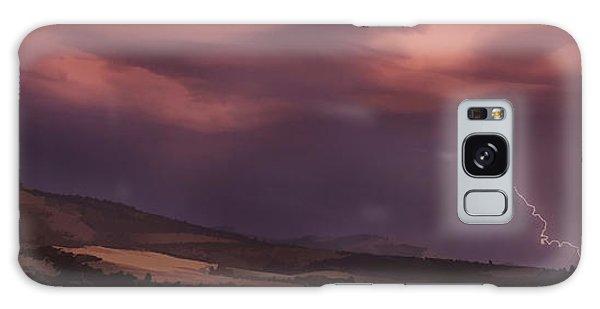 Roxy Ann Lightning Galaxy Case