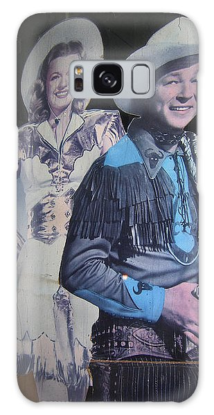 Roy Rogers And Dale Evans #2 Cut-outs Tombstone Arizona 2004 Galaxy Case