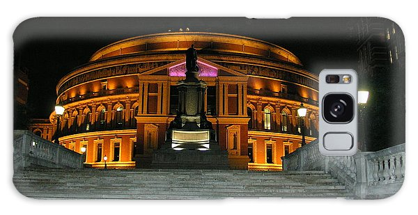 Royal Albert Hall At Night Galaxy Case by Bev Conover