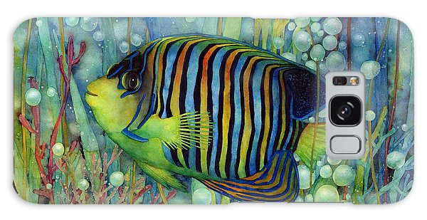 Beautiful Galaxy Case - Royal Angelfish by Hailey E Herrera