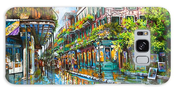 Town Galaxy Case - Royal At Pere Antoine Alley, New Orleans French Quarter by Dianne Parks