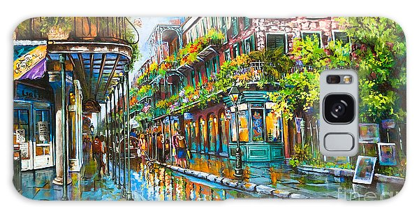 Royal At Pere Antoine Alley, New Orleans French Quarter Galaxy Case by Dianne Parks