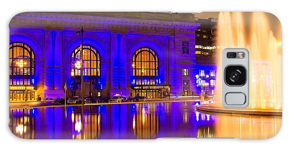 Royal Blue Reflections Union Station Galaxy Case
