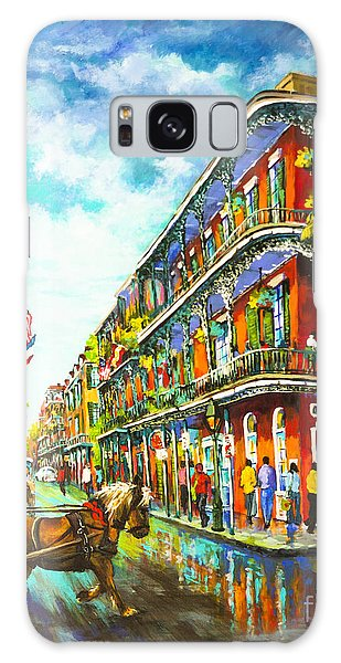 Royal Carriage - New Orleans French Quarter Galaxy Case by Dianne Parks