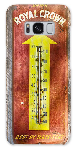 Royal Crown Barn Thermometer Galaxy Case