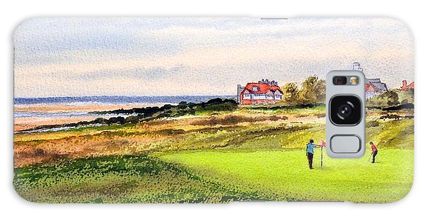 Royal Liverpool Golf Course Hoylake Galaxy Case by Bill Holkham