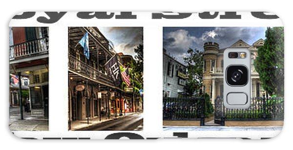 Royal Street New Orleans Galaxy Case