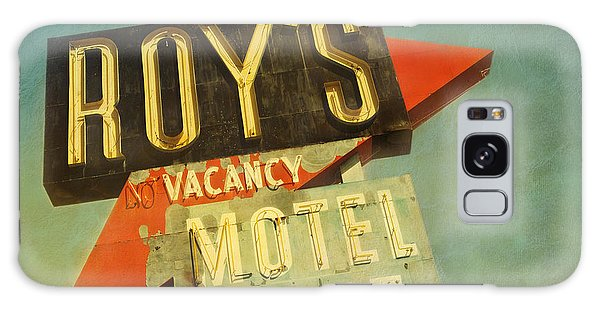 Roy's Motel And Cafe Galaxy Case