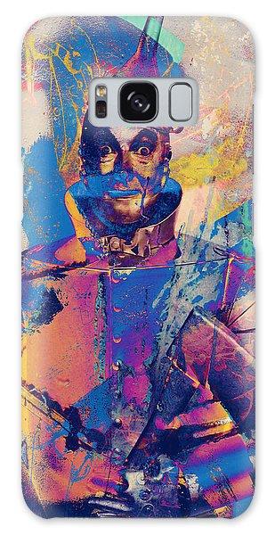 Rubber Tin Man  Galaxy Case by Jerry Cordeiro
