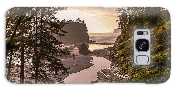 Ruby Beach Landscape Galaxy Case
