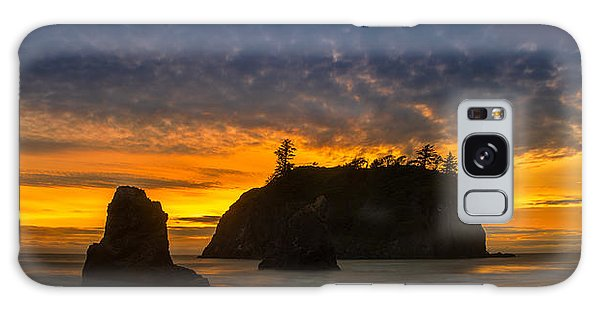 Olympic National Park Galaxy Case - Ruby Beach Olympic National Park by Steve Gadomski