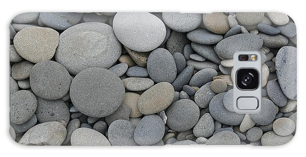 Ruby Beach Pebbles Galaxy Case