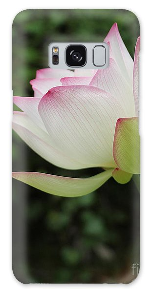 Ruby Lips Lotus Galaxy Case by Dodie Ulery