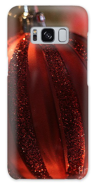 Ruby Red Christmas Galaxy Case by Linda Shafer