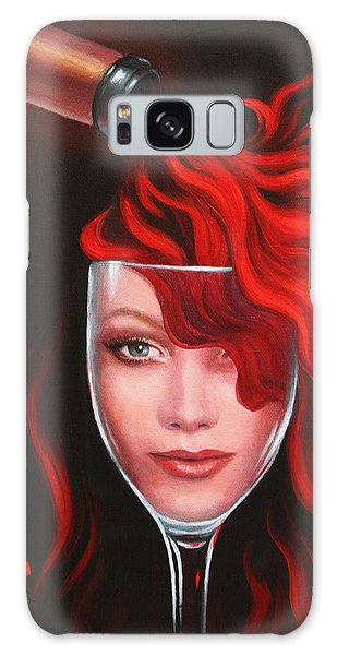 Ruby Red Galaxy Case by Sandi Whetzel