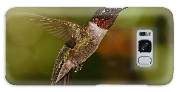 Ruby-throat Hummingbird Galaxy Case
