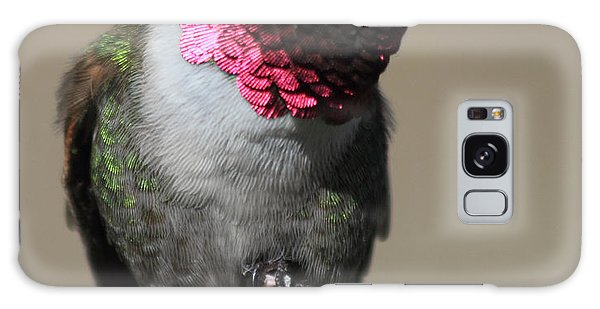 Ruby-throated Hummer Galaxy Case