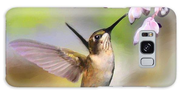 Ruby-throated Hummingbird - Digital Art Galaxy Case
