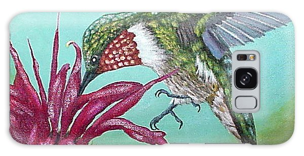Ruby-throated Hummingbird Galaxy Case