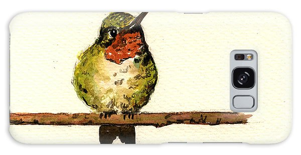 Hummingbird Galaxy S8 Case - Ruby Throated Hummingbird  by Juan  Bosco