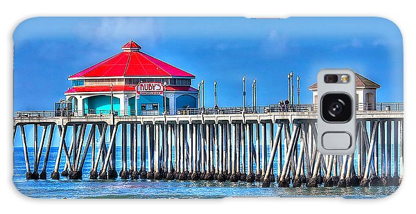 Ruby's Surf City Diner - Huntington Beach Pier Galaxy Case