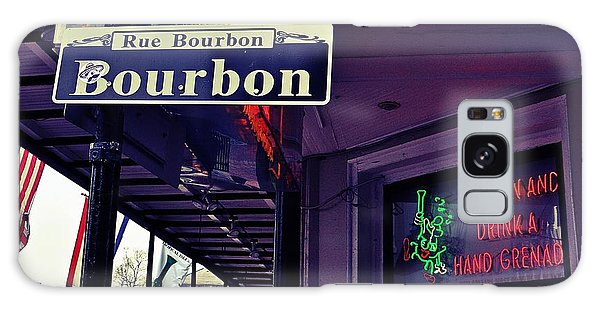 Rue Bourbon Street Galaxy Case