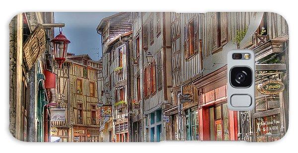 Rue De La Boucherie Galaxy Case