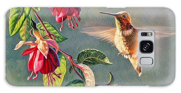 Hummingbird Galaxy S8 Case - Rufous And Fuschia by Paul Krapf