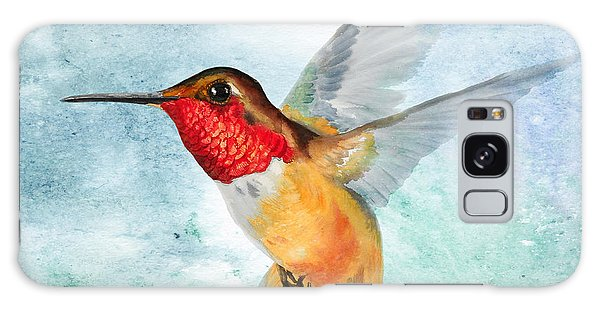 Da199 Rufous Humming Bird By Daniel Adams Galaxy Case