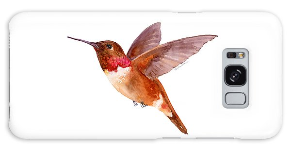 Fall Galaxy Case - Rufous Hummingbird by Amy Kirkpatrick