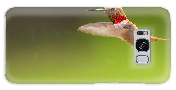 Rufous Hummingbird Male Galaxy Case
