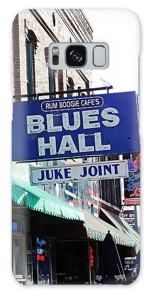 Rum Boogie Blues Hall Beale St Memphis Galaxy Case