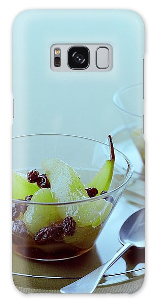 Rum Raisin Poached Pears Galaxy Case