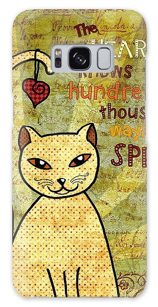 Hundred Galaxy Case - Rumi Cat Heart by Cat Whipple