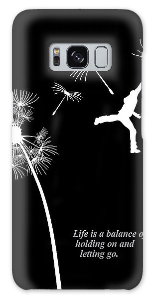 Rumi Inspirational Quote Galaxy Case