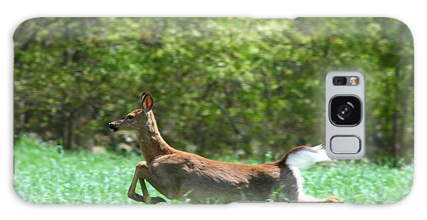 Run Forest Run Galaxy Case by Neal Eslinger