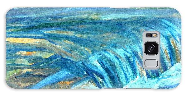 Run River Run Over Rocks In The Sun Galaxy Case by Betty Pieper